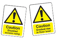 Disability Caution Signs