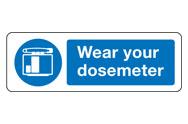 Dosemeter Signs