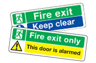 Multi Purpose Emergency Escape Signs
