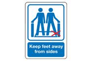 Escalator Signs