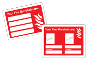 Fire Marshal Signs
