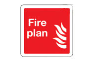 Fire Plan Signs