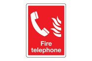 Fire Telephone Signs