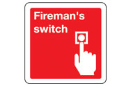 Fireman's Switch signs