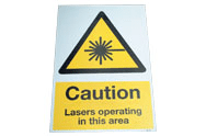 Caution Floor Graphic Signs
