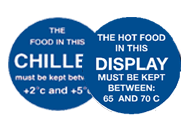 Temperature Storage Labels