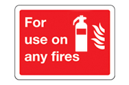 For use on .... fires