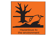 Hazardous to the environment signs