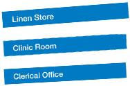 Hospital Door Signs