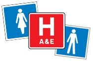 Hospital Symbol Signs