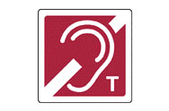 Induction Loop Signs