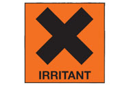 Irritant Labels