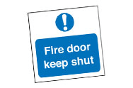 Keep Shut Signs