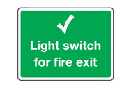 Light Switch Signs