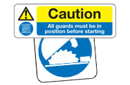 Machine Guard Signs