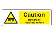 Machine Roller Signs