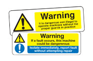 Machinery Danger Signs
