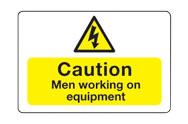 Men Working Signs