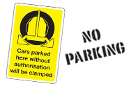 Miscellaneous Car Park Signs