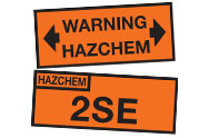 Miscellaneous Hazard Signs