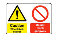 Multi Purpose Disability Signs
