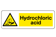 Hydrochloric Acid Signs