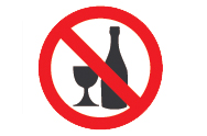 Off Licence Products Sign