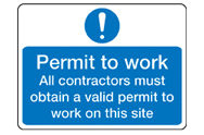 Permit and Permission signs
