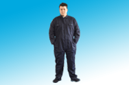 Polycotton Navy Boiler Suits