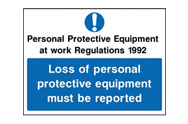 PPE Regulations Signs