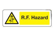 RF Hazard Signs