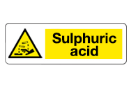 Sulphuric Acid Signs