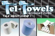 Tel Towels - Economy Paper Range