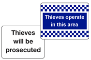 Theft Signs