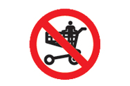 Shopping Trolley Signs