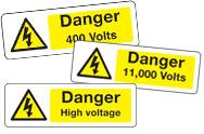 Voltage Signs