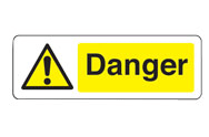 Yellow Danger Signs