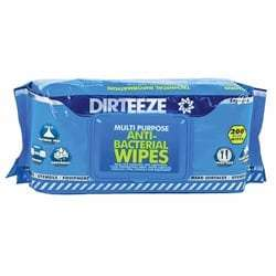 Dirteeze Multipurpose Anti-Bacterial Wipes