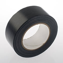 black waterproof cloth tape