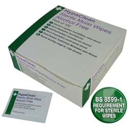 HypaClean Sterile Moist Wipes