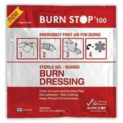 Burns dressing