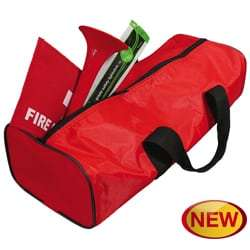 fire kit in bag