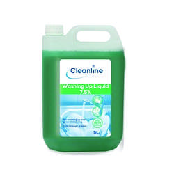 cleanline washing up liquid 7.5%