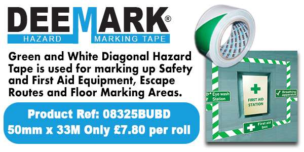 Deemark Hazard Floor Marking Tape