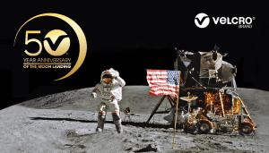 Velcro celebrates moon landing