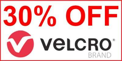 30% discounted prices on Velcro Brand products