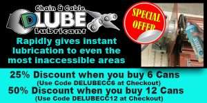 Dlube Chain and Cable Lubricant