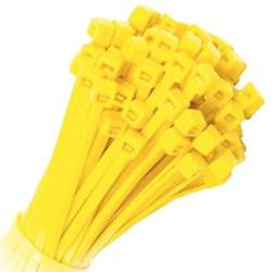Yellow Cable Ties – Pack of 100