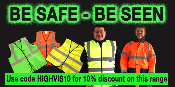 10% off high visibility workwear