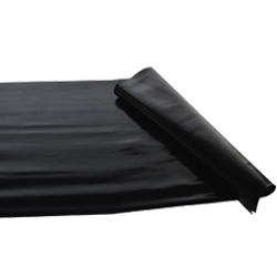Black Neoprene Drain Cover
